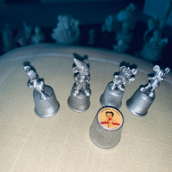 Windmill Thimble Pewter Miniature Gift Collectable Thimble Gift